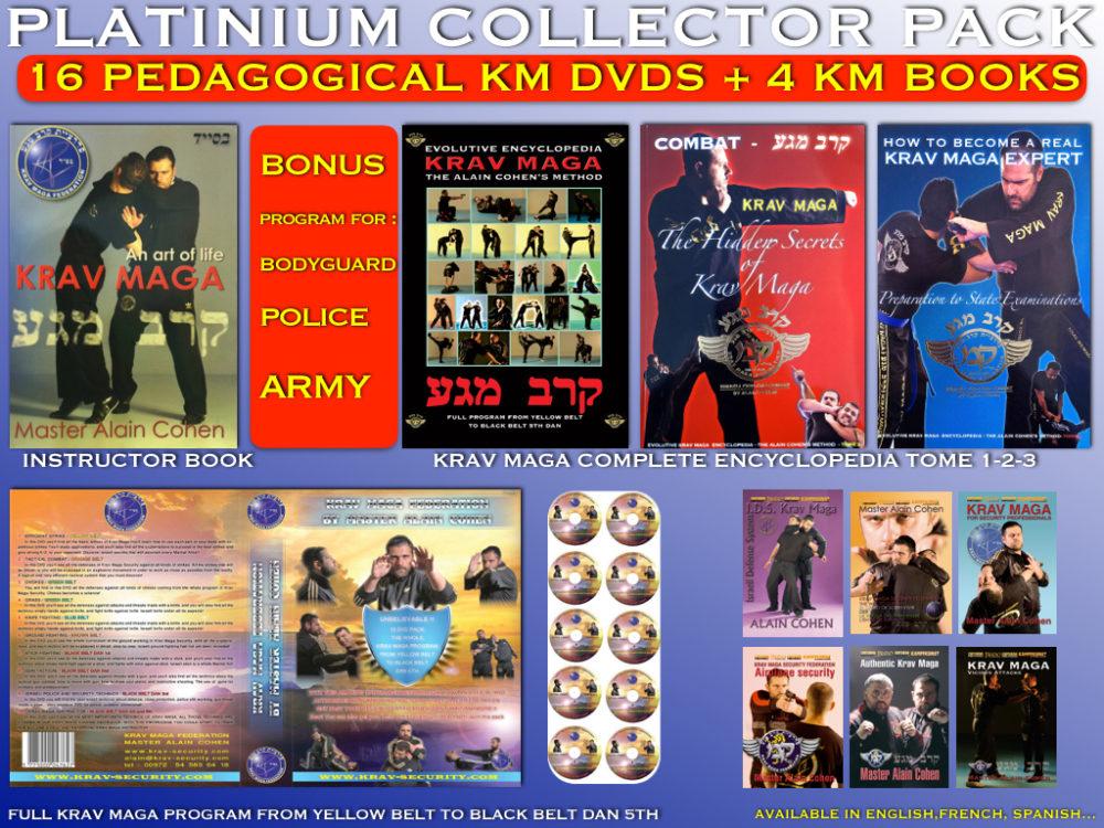 THE INTEGRAL PLATINIMUM COLLECTOR 16 KRAV MAGA DVDS + 4 KRAV MAGA BOOKS
