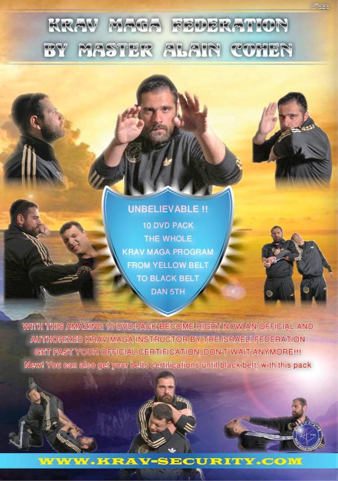 KRAV MAGA 10 DVD PACK
