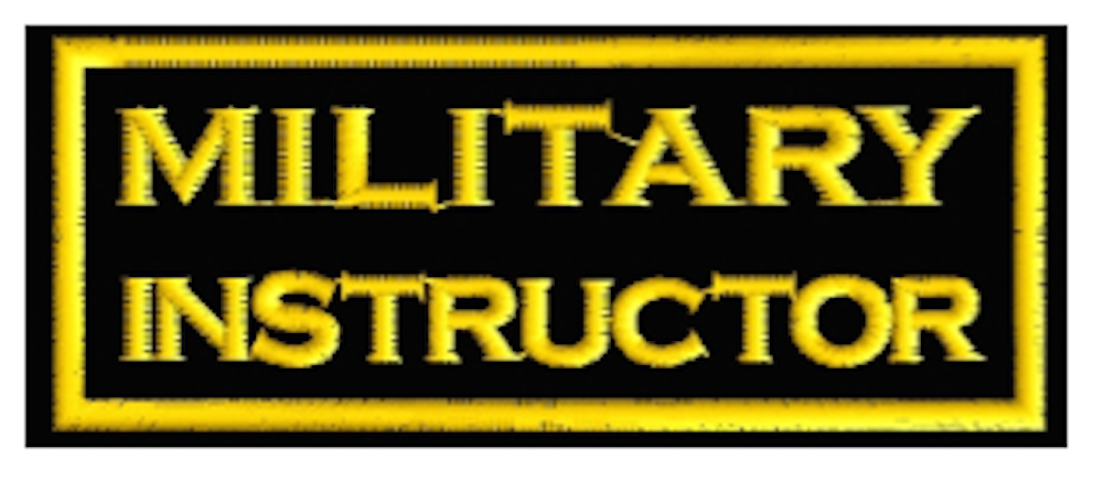 MILITARY INSTRUCTOR