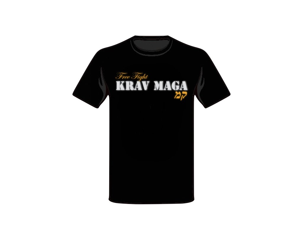 T-SHIRT KRAV MAGA FREE FIGHT