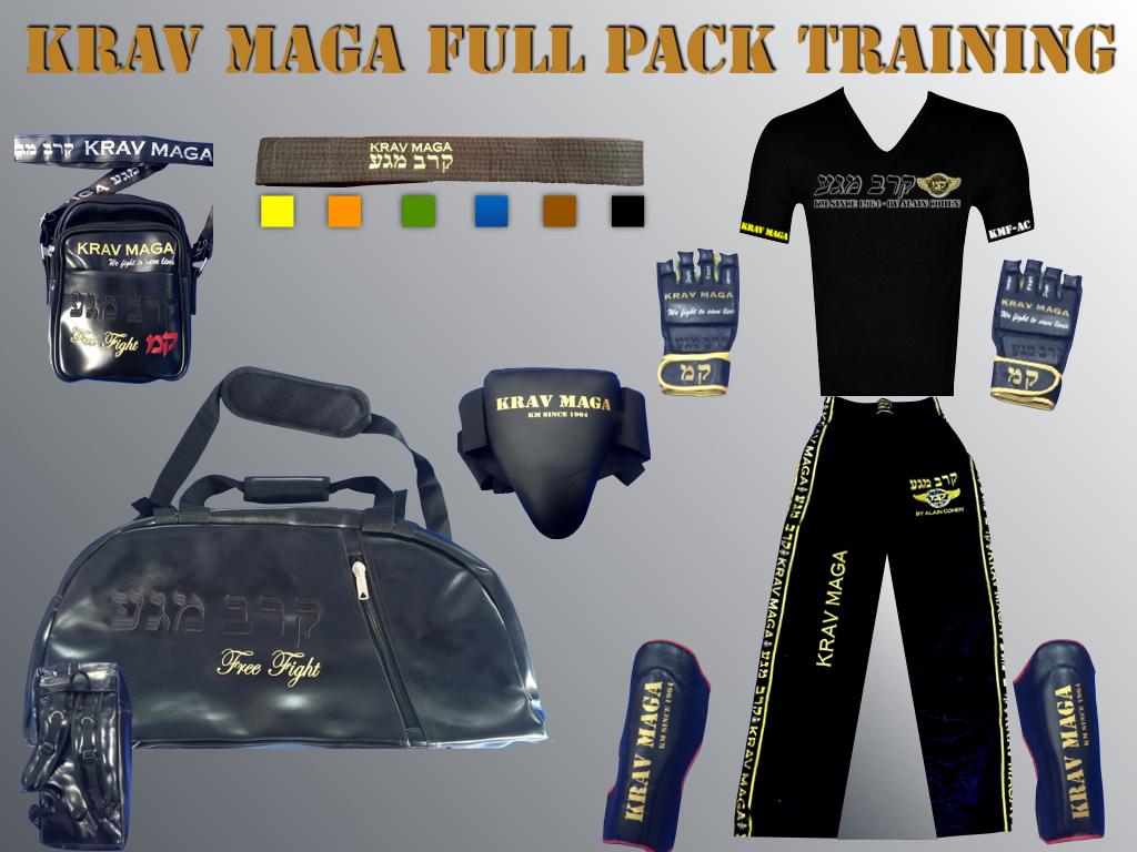 FULL KRAV MAGA PACK PRACTITIONER
