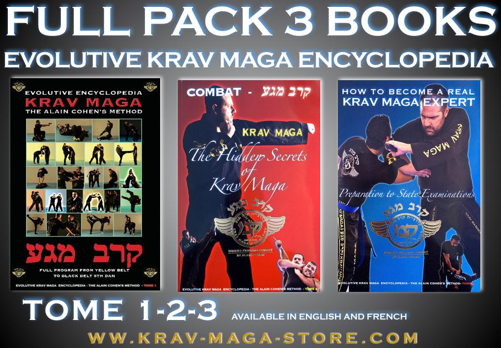 FULL KRAV MAGA ENCYCLOPEDIA TOME 1-2-3